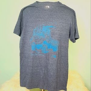 The North Face never stop exploring bronco tee med